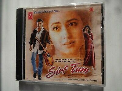 SIRF TUM ~ Bollywood Soundtrack Hindi CD ~ Nadeem Shravan ~ 1999 ~ 1st Edition • 9.95£