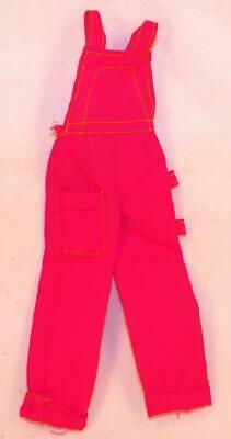 $17.99 • Buy Dusty Fashion Doll Pink Overalls Yellow Stitching Kenner Vintage