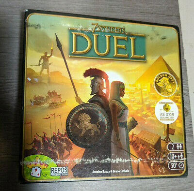 AU25.44 • Buy 7 WONDERS DUEL Award Winning 2 Player Strategy Board Game, Repos Production