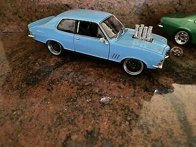 AU850 • Buy 1/18 Modified Injected Big Block HOLDEN LC Torana With Black 10 Spoke Wheels