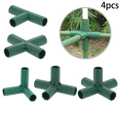 Greenhouse Awning Structure Joints Connector Plastic Pipe Frame DIY Accessories • 5.24£