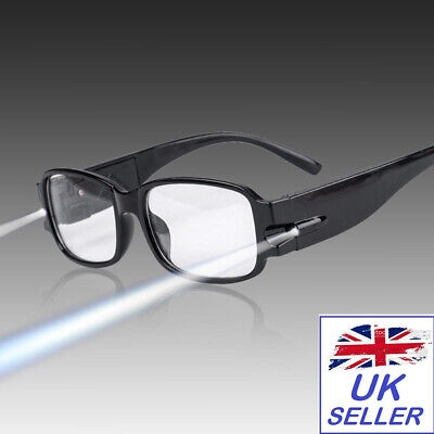 NEW Light Up Glasses - Black Glasses With Led Lights Fancy Dress Accessories • 4.99£