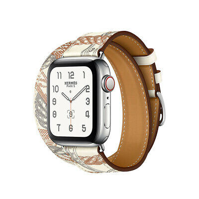 AU18.99 • Buy Fashion White Leather Watch Band Starp For Apple Watch Series 6 5 4 3 2 SE