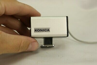 $14.95 • Buy Konica Flash Cube Camera Attachment Vintage W PC Connector