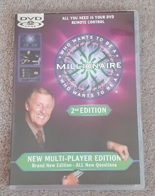 WHO WANTS TO BE A MILLIONAIRE - DVD Game - 2nd Edition - Chris Tarrant - ITV • 2.99£
