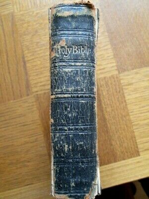 Antique Holy Bible-eyre & Spottiswoode-1804-gilt Edged Pages-embossed Hard Cover • 24.99£
