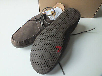 Vivobarefoot Leather 47 UK 12 Soul Of Africa Tigray Brown Lace Up Shoe • 99£