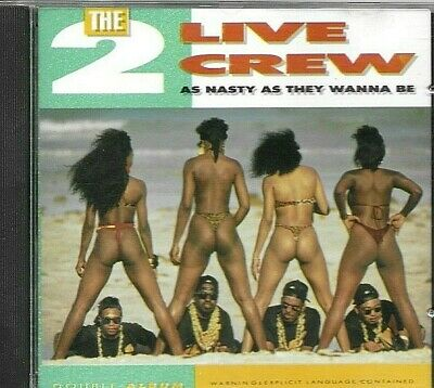 $ CDN21.44 • Buy 2 LIVE CREW - As Nasty As They Wanna Be  (Rare Original 1989 US CD)  NM