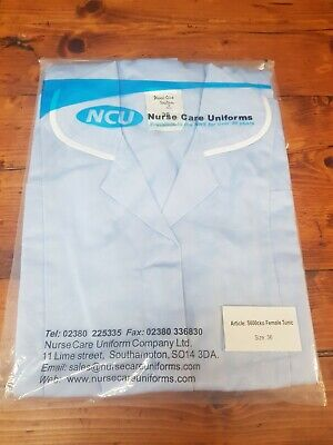 Uniform Tunic Top Nurse Shirt Healthcare Hospital Carer Male Mens  Size 42 • 9.99£