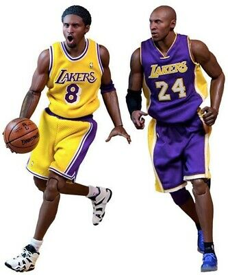 $499.99 • Buy Enterbay NBA Collection Kobe Bryant 1:6 Scale Real Masterpiece Figure 2 Pack.