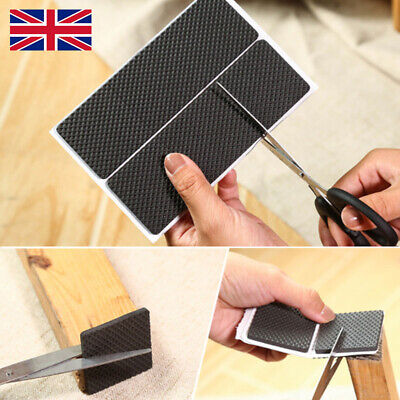 Non Slip Self Adhesive Floor Protectors Chair Leg Pads Table Rubber Pads Feet  G • 2.95£