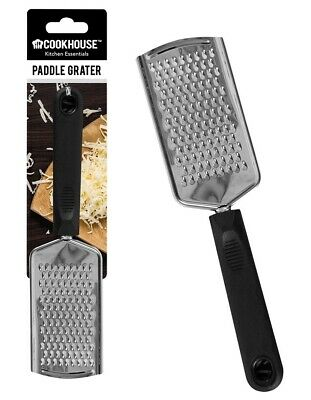 £2.99 • Buy Stainless Steel Hand Held Paddle Grater Utensil Kitchen Cheese Grater 24cm