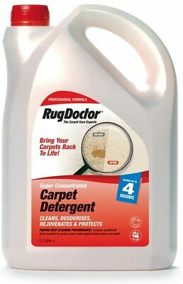 Rug Doctor Carpet Shampoo Cleaning Detergent Odour Neutralising - 2 Litre • 40.99£