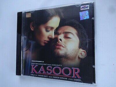 KASOOR ~ Bollywood Soundtrack Hindi CD ~ Nadeem Shravan ~ 2000 • 9.95£