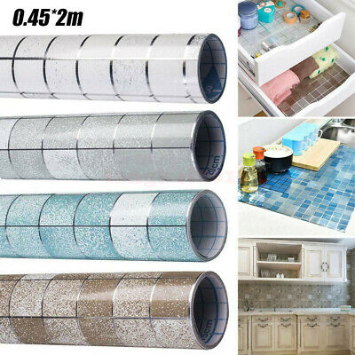 Kitchen Waterproof Anti-Oil Stick On Wall Tile Decal Sticker Self-adhesive DIY • 4.59£