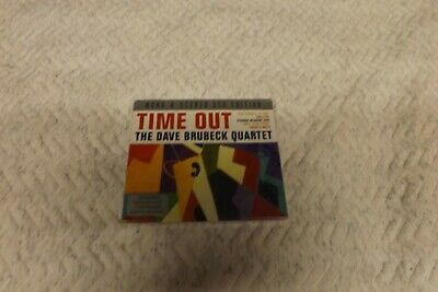 The Dave Brubeck Quartet Time Out Double Cd New Sealed  Free Post  • 2.49£