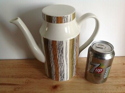 LOVELY 1960/70s STAFFORDSHIRE ENGLAND-MIDWINTER COFFEE POT-SIENNA-JESSIE TATE • 16.99£