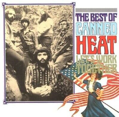 Canned Heat Let's Work Together-Best Of CD NEW SEALED On The Road Again+ • 4.99£