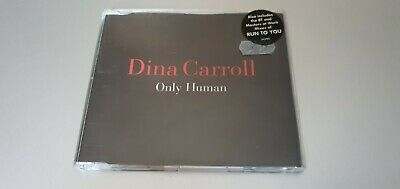 £2.99 • Buy Dina Carroll - Only Human 1996 Cd Single Classic House! Masters At Work Bt & Pvd