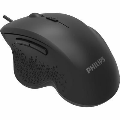 AU28.99 • Buy Philips SPK7444 (M444) 6-Button Ergonomic Wired Optical Gaming Mouse