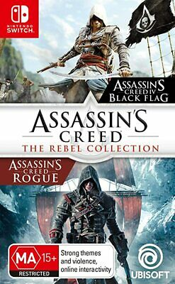 AU50.61 • Buy Assassins Creed Rebel Collection - BRAND NEW - NINTENDO SWITCH