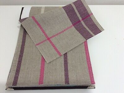 HARLEQUIN Folia Fabric Book (18 Samples) CRAFTS UPHOLSTERY PATCHWORK  • 7.50£