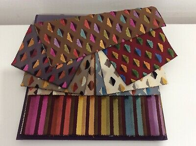 LELIEVRE PARIS Fabric Book (14 Samples) CRAFTS PATCHWORK UPHOLSTERY  • 6£