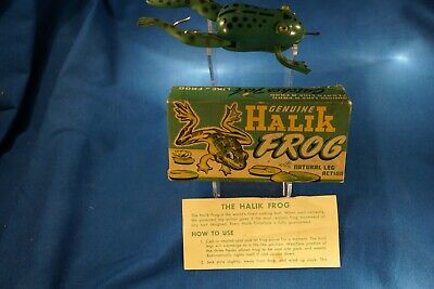 $ CDN18 • Buy  Vintage Halik Co. Halik Frog Mint In The Box ! !
