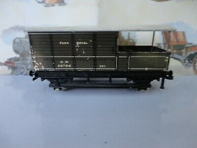Hornby Dublo GWR Brake Van. Fair Condition. No Box. • 5£