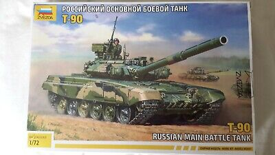 IZvezda 1:72 Russian T-90 MBT  Plastic Model Kit • 9.99£