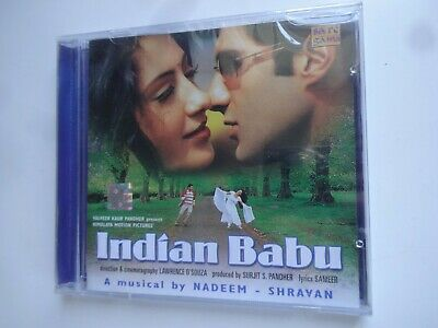 INDIAN BABU ~ Bollywood Soundtrack Hindi CD ~ Nadeem Shravan ~ 2002 ~ New • 9.95£