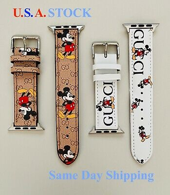 $ CDN30.38 • Buy Apple Watch Band Genuine Leather Strap For Series 5 4 3 2 1 38/40mm, 42/44mm