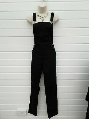 Dungarees,overalls,casual,rockabilly,,50's,60's Vintage Style,size 12 App,nwts • 6.99£