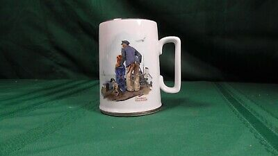 $ CDN3.94 • Buy NORMAN ROCKWELL MUSEUM  LOOKING OUT To SEA  TANKARD / MUG