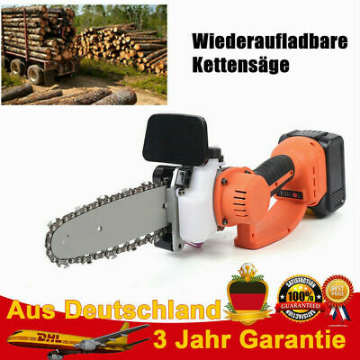 View Details 8 In Cordless Electric Chainsaw Portable Rechargeable Battery Woodworking 220V  • 115.06£
