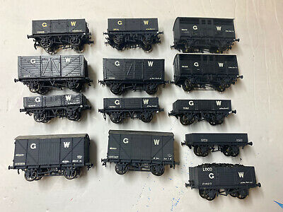 Job Lot Of OO Gauge Kit Built GWR Wagons- Cooper Craft, Ratio- Lot 1 • 59£