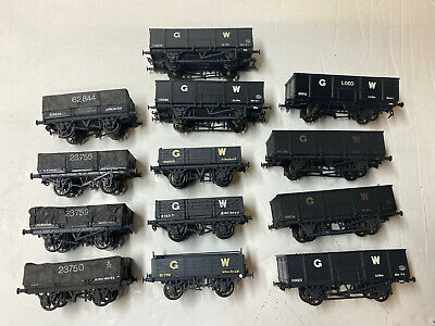 Job Lot Of OO Gauge Kit Built GWR Wagons- Cooper Craft, Ratio- Lot 2 • 63£