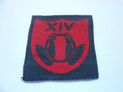 £45 • Buy 14th Army Lines Of Communication  Printed  Formation Sign Military Unit Patch