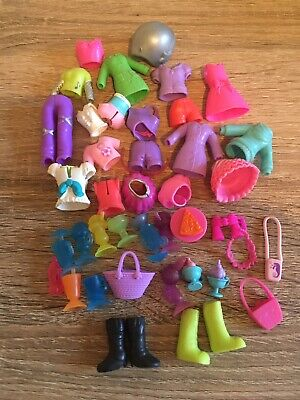 Vintage Polly Pocket Bundle Clothes, Shoes, Ice Cream Sundae And Lots More • 7.99£