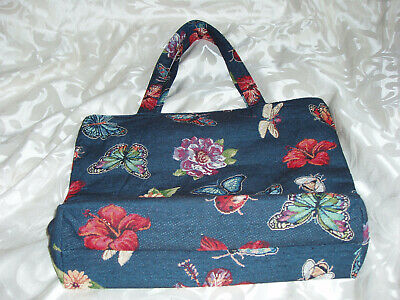 Isle Bag Tapestry Effect Butterflys, Ladybirds, Flowers,bees,dragonflys • 9.99£