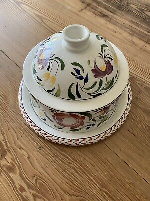 Portmeirion Vintage China Welsh Dresser Large Cheese Dome • 84.99£