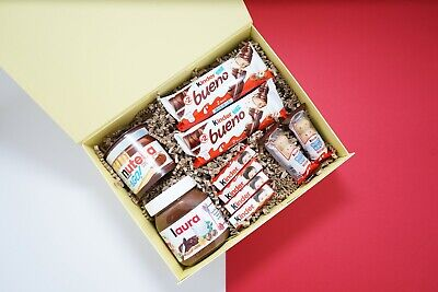 Personalised Nutella Gift Box/Chocolate Hamper/Nutella Gift Box/Birthday Gift • 5.99£