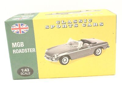 ATLAS EDITIONS Classic Sports Cars 1:43 Scale DIECAST Model MGB ROADSTER  - H18 • 4.99£