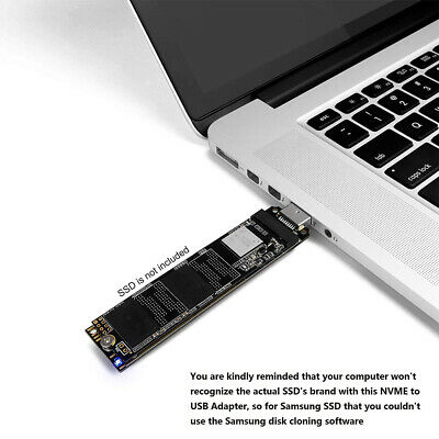 AU31.81 • Buy M.2 To USB3.1 Stable Fast Speed NVME M Key Adapter Card SSD Tool NGFF Converter