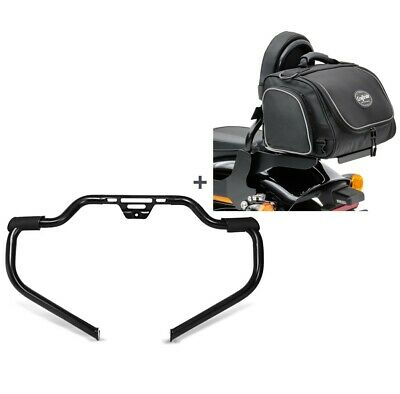 Set Crash Bar + Rear Bag TM2 For Harley Softail Standard 2020 STM14 • 256.35£