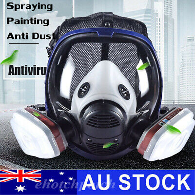 AU25.78 • Buy New 6800 Gas Mask 7 In 1 Full Face Chemical Spray Painting Respirator Vapour AU