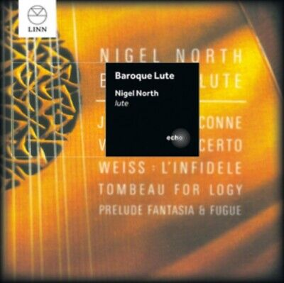 Nigel North Baroque Lute • 14.23£