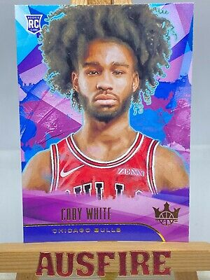 AU20 • Buy NBA Coby White Chicago Bulls 2019-20 Panini Court Kings Rookie Card #76