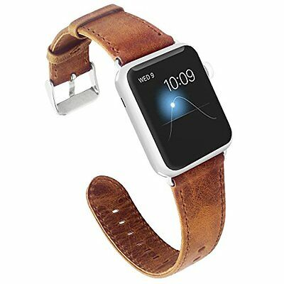 AU20.99 • Buy For Apple Watch IWatch Series 6 5 4 3 2 SE Watch Strap Band Leather Wristband