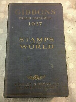£17 • Buy Gibbons Priced Catalogue 1937 Stamps Of The World